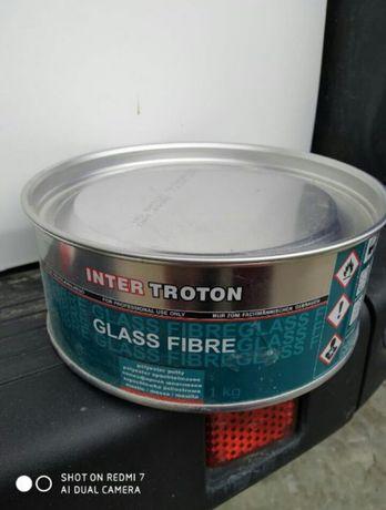 Шпатлевка для авто Glass Fibre новая, отвердитель в подарок
