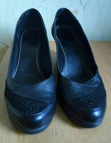 Продам туфли, кожа. ТОРГ!