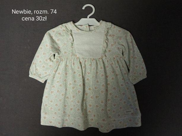 Ubrania dla dziewczynki, rozm. 74