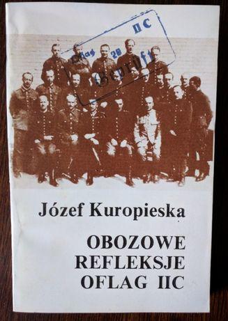 Obozowe refleksje Oflag IIC - autor: Józef Kuropieska