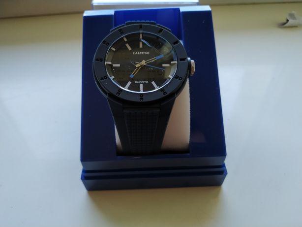 Zegarek Calypso Watch Wuartz K5629/3 Na rękę Kwarcowy Niebieski Pasek