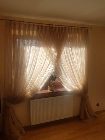 Firany do salonu lub sypialni - stan idealny