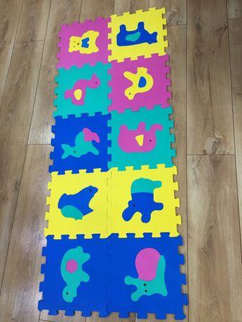 Grube puzzle piankowe