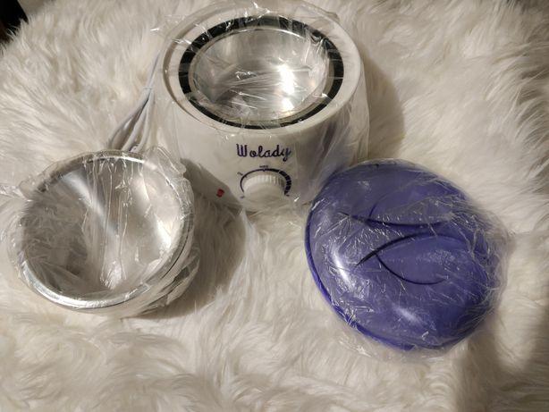 Wolady Podgrzewacz do wosku +patyczki + wosk depilacja