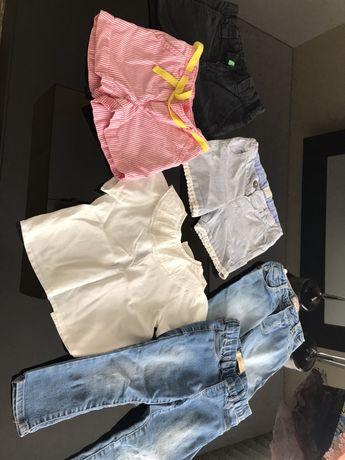 Calções, calças, blusa 2 anos mayoral benetton