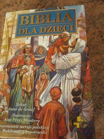 Ksiazka Biblia dla dzieci
