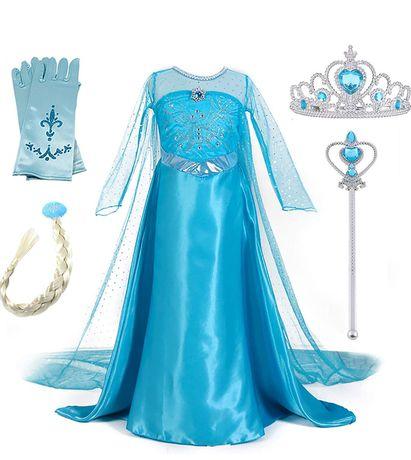 Vestido de princesa do Gelo