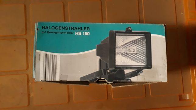 halogen z czujnikiem ruchu HS 150