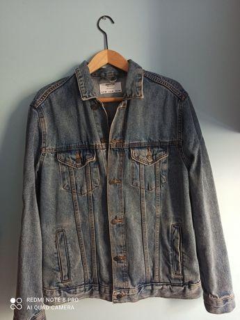 kurtka jeansowa denim marki Bershka