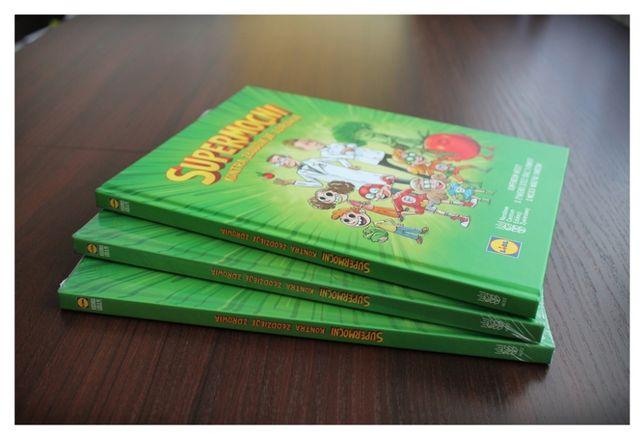 """NOWA!!! Książka """"Supermocni kontra złodzieje zdrowia"""" Lidl dla dzieci"""