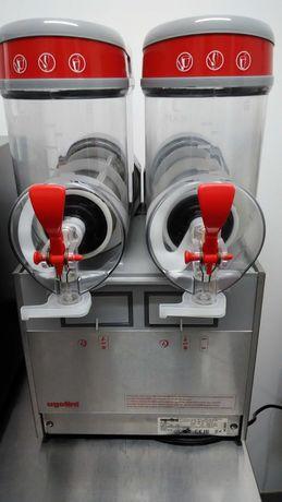 Granizado, gelado soft, máquina profissional Ugolini MT 2sabores