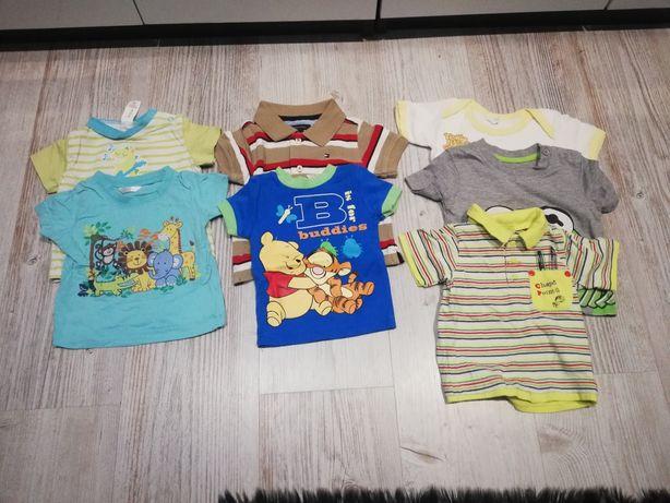 Ubranka dla chłopca roz 68