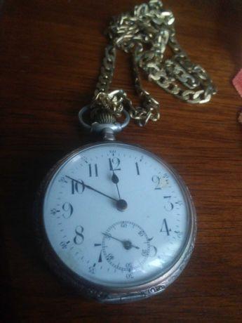 Srebrny zegarek kieszonkowy zamienie na Starta36mm