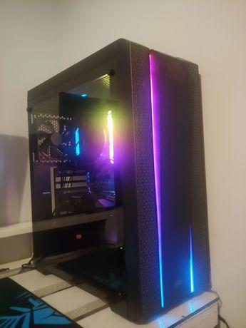 Komputer Gamingowy r5 1600af gtx 1650super 16gb ram rgb 500gb ssd