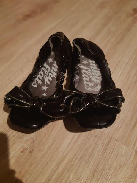 Czarne balerinki next 32