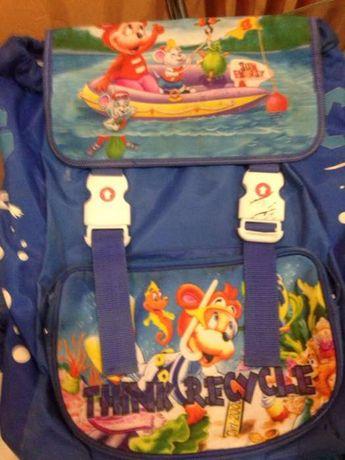 Школьная сумка +пенал и глобус в подарок