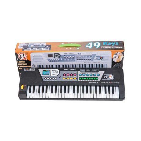 KEYBOARD MQ-4919 ORGANKI mikrofon pianino zabawki muzyczne dla dzieci