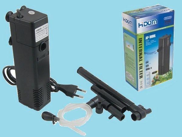 Filtr wewnętrzny do akwarium 600 l/h