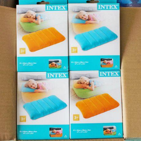 Подушка надувная подушка Intex 68676 Яркая подушечка Интекс