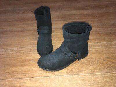 Теплые замшевые ботинки Office London, Италия, р-р 39, ст 25,5 Кропивницкий - изображение 1