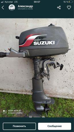 Продам лодочный мотор Suzuki 4 л.с