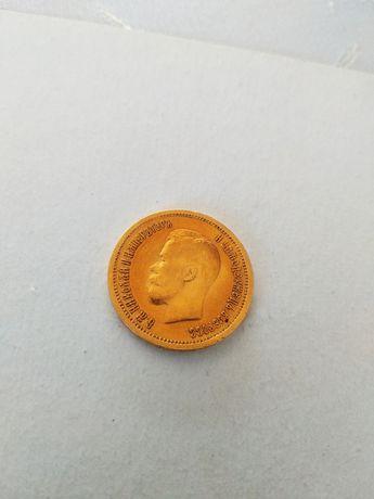 Moneta--10 Rubli--Rosja--1899--złoto--B11-