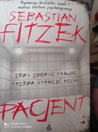 """""""Pacjent""""Sebastian FitzekZamiana lub sprzedaz"""