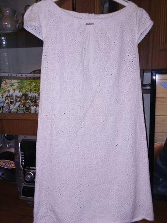 Платье летнее из прошвы