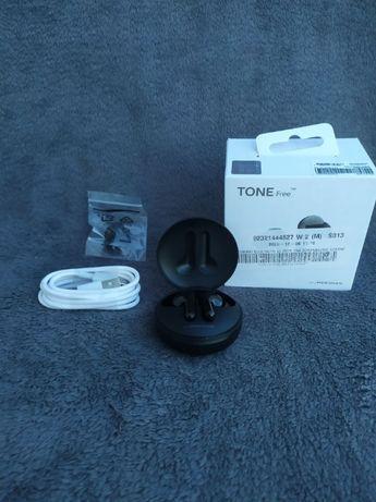 LG Słuchawki TONE Free, bezprzewodowe, douszne HBS-FN4 (czarny)