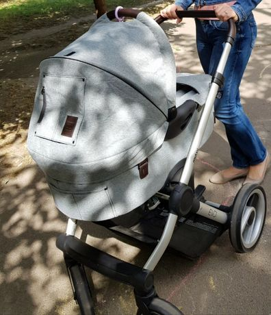 Mutsy универсальная коляска EVO Farmer, теплый конверт,сумка,дождевик