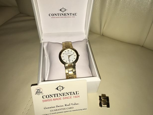 Continental watches since 1924