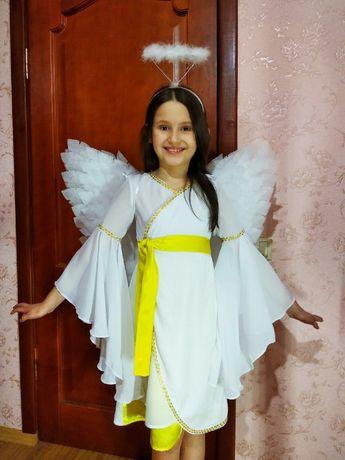 Ангел детский карнавальный костюм