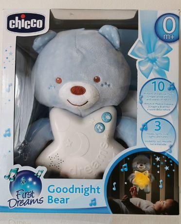 Sprzedam Misia na dobranoc Chicco 0m+ Miś, zdublowany prezent