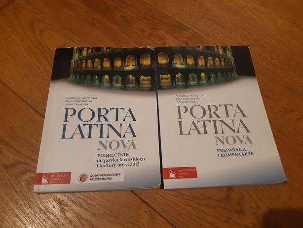 """""""Porta latina nova"""" podręcznik i preparacje, język łaciński"""