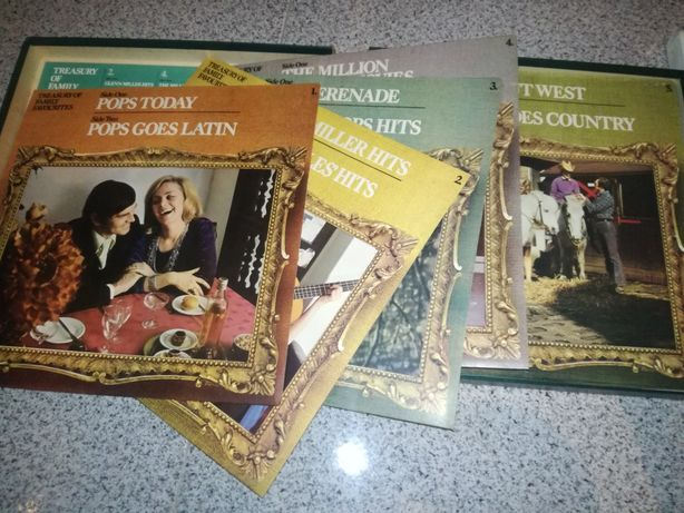 Colectânea vinil Treasury of Family favourits