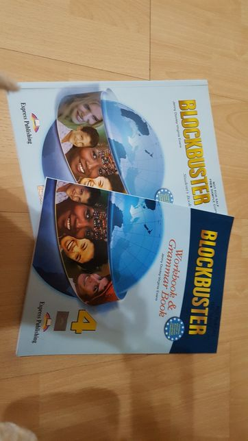 NOWY Blockbuster 4 Student's Book + Workbook & Grammar Book