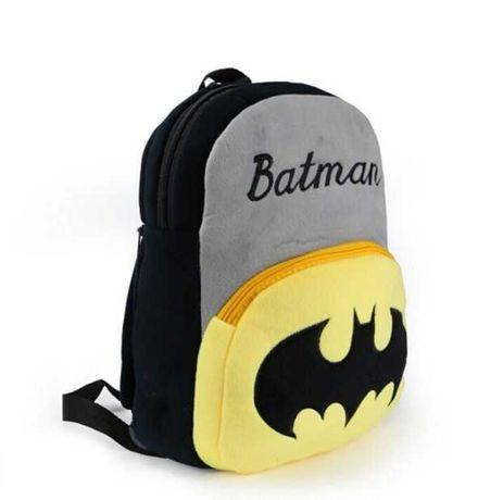 Детский плюшевый рюкзак Бэтмен Batman для мальчиков