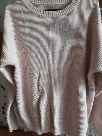 sweter ażurowy wzór