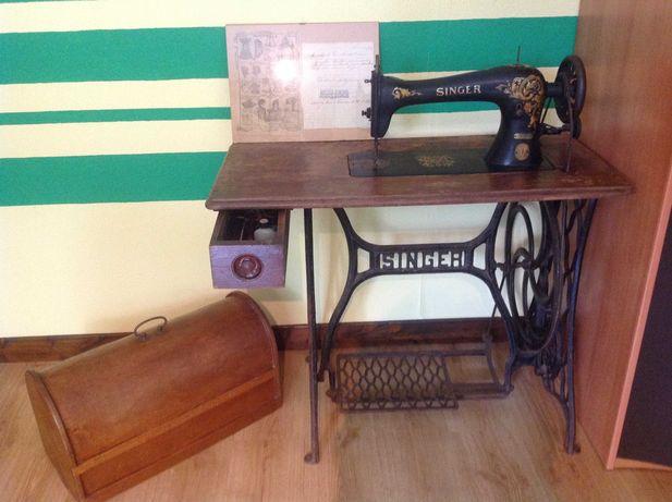 Máquina de costura Singer de 1918