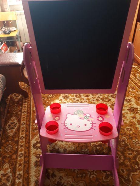 Дошка дитяча двухстороння (стіл дитячий, парта)