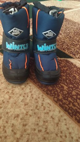 Зимние ботинки 28-29 размер