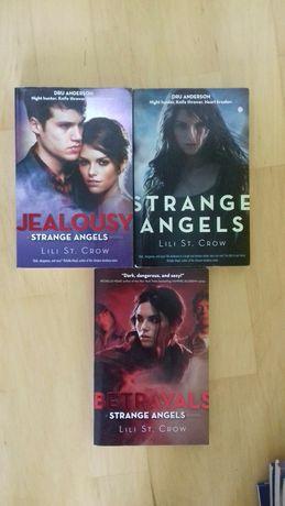 Strange angels Betrayals Jealousy Lili St. Crow