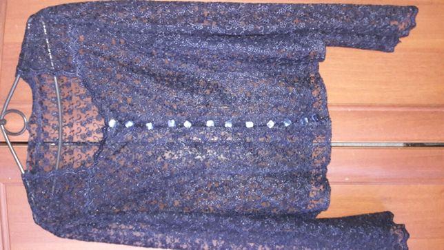 Блуза женская гипюровая