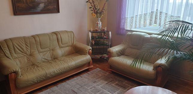 Sofa skórzana 3os + 2os