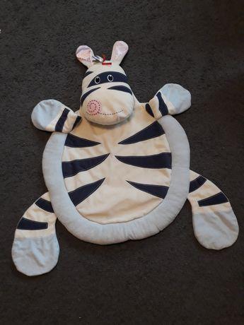 Mata,dywanik zebra
