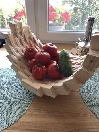 Półmisek, kosz, koszyk na owoce, warzywa, dekoracja kuchenna
