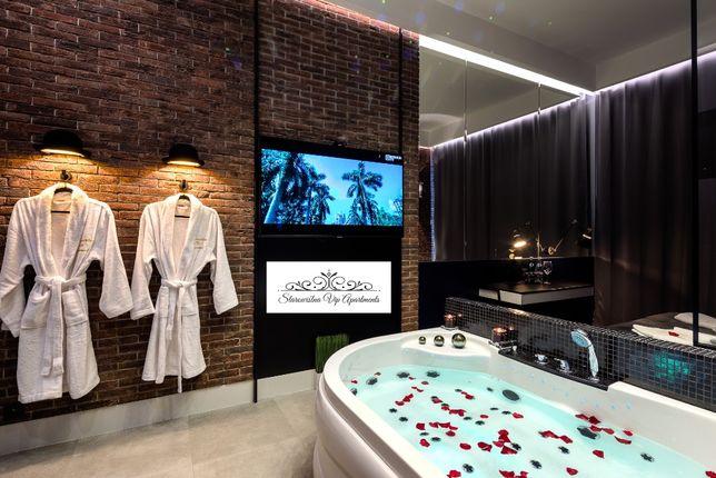 Apartamenty VIP Starowiślna, luksusowe apartamenty z jacuzzi