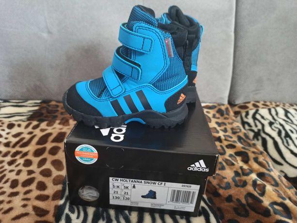 Nowe buty chłopięce zimowe adidas 21 (13,5 cm)