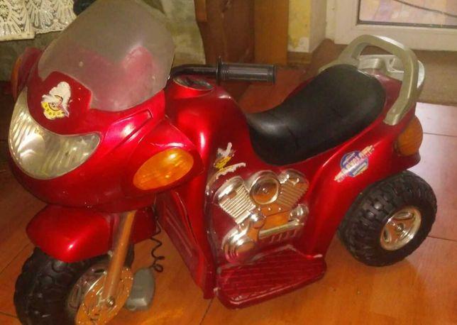 электромотоцикл детский  от 1,5 лет