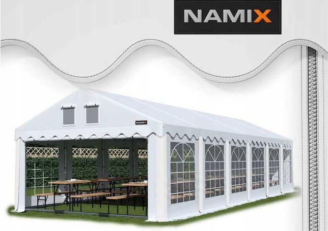 Namiot GRAND 6x10 ogrodowy imprezowy garaż wzmocniony PVC 560g/m2